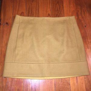 J. Crew Wool Blend Skirt Size 6